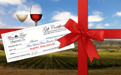 Wine Tour Gift Certificates, the gift of a new experience!